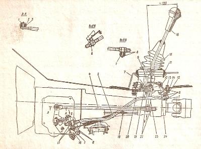 Коробка передач москвич 412 схема